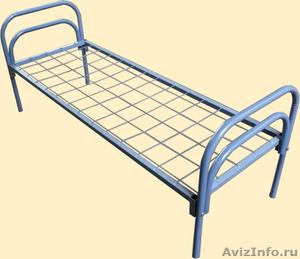 Кровати металлические, кровати двухъярусные для общежития - Изображение #5, Объявление #692011