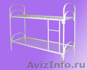 Кровати металлические, кровати двухъярусные для общежития - Изображение #1, Объявление #692011