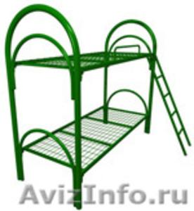 Кровати металлические, кровати двухъярусные для общежития - Изображение #3, Объявление #692011