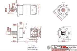 Героторный Гидромотор OMS 250 151F0505 Sauer-Danfoss, Зауэр Данфос, - Изображение #1, Объявление #830942