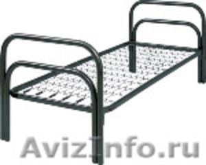 Одноярусные кровати, кровати для лагеря, металлические кровати - Изображение #6, Объявление #897943