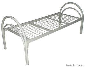 Одноярусные кровати, кровати для лагеря, металлические кровати - Изображение #4, Объявление #897943