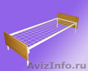 Одноярусные кровати, кровати для лагеря, металлические кровати - Изображение #1, Объявление #897943