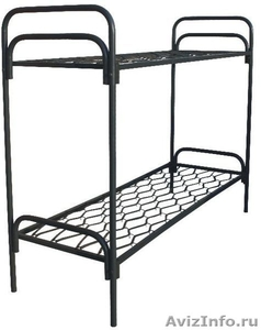 Одноярусные кровати, кровати для лагеря, металлические кровати - Изображение #3, Объявление #897943