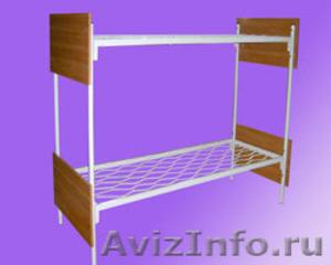 Одноярусные кровати, кровати для лагеря, металлические кровати - Изображение #2, Объявление #897943