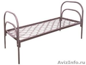 Одноярусные кровати, кровати для лагеря, металлические кровати - Изображение #5, Объявление #897943