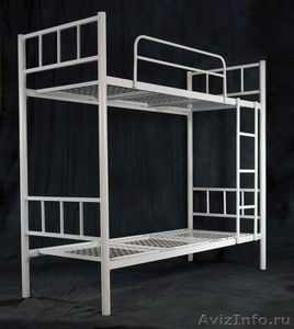 Кровати железные для казарм, кровати для строителей, кровати металлические опт - Изображение #5, Объявление #1478879