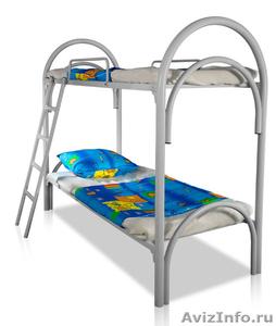 Кровати железные для казарм, кровати для строителей, кровати металлические опт - Изображение #6, Объявление #1478879