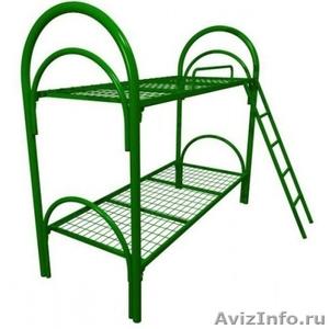 Кровати одноярусные для бытовок, кровати двухъярусные для детских лагерей. - Изображение #2, Объявление #1479388