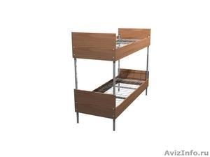 Кровати одноярусные для бытовок, кровати двухъярусные для детских лагерей. - Изображение #4, Объявление #1479388