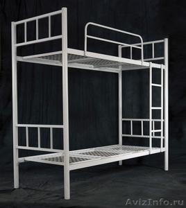 Трёхъярусные металлические кровати для общежитий, кровати металлические. оптом - Изображение #4, Объявление #1479547