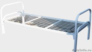 Кровати металлические двухъярусные для казарм, кровати для больниц. оптом. - Изображение #3, Объявление #1479852