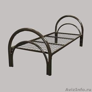 Кровати железные для казарм, кровати для строителей, кровати металлические опт - Изображение #2, Объявление #1478879