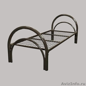 Трёхъярусные металлические кровати для общежитий, кровати металлические. оптом - Изображение #1, Объявление #1479547