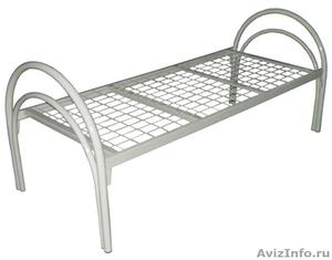 Кровати железные для казарм, кровати для строителей, кровати металлические опт - Изображение #4, Объявление #1478879