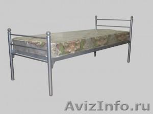 Кровати металлические двухъярусные для казарм, кровати для больниц. оптом. - Изображение #2, Объявление #1479852