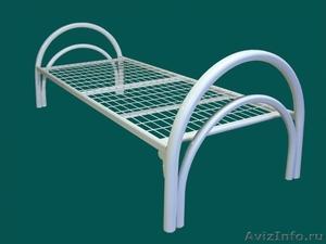Кровати одноярусные для бытовок, кровати двухъярусные для детских лагерей. - Изображение #1, Объявление #1479388