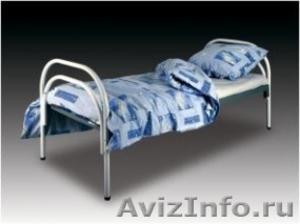 Трёхъярусные металлические кровати для общежитий, кровати металлические. оптом - Изображение #2, Объявление #1479547
