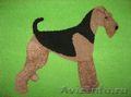 Коврики ручной работы с изображением собак