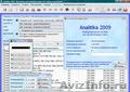 Analitika 2009 - Бесплатное ПО для ведения учета и управления торговой компанией
