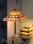 витражные светильники,  лампы,  люстры,  бра и др.