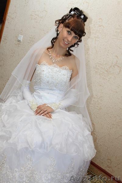 продам свадебное платье!в идеальнейшем состоянии, б/у один раз!!! в Саратове, продам, куплю, всякая всячина в Саратове - 490993, saratov.avizinfo.ru