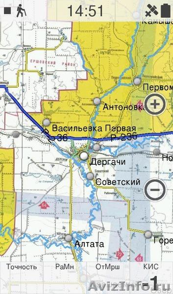 карта рыбака саратовской области