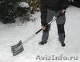 Уборка снега в ручную