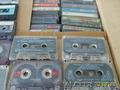 Аудиокассеты б/у,  с записями